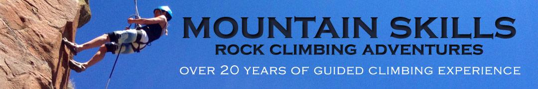 Mountain Skills Rock Climbing Adventures