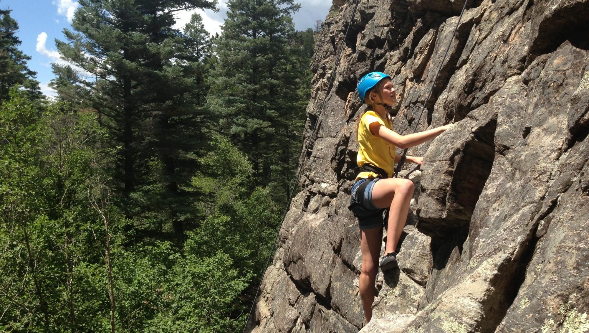 Rock Climb Taos Nm Mountain Skills Rock Climbing Adventures