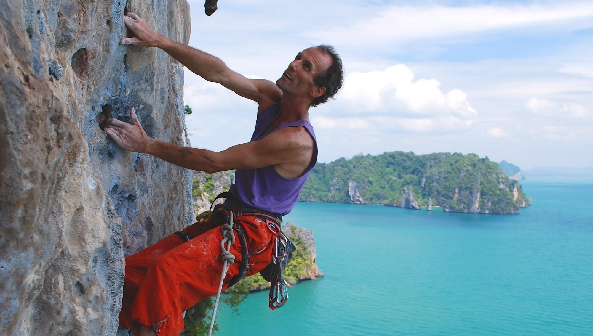 essay on experience of rock climbing