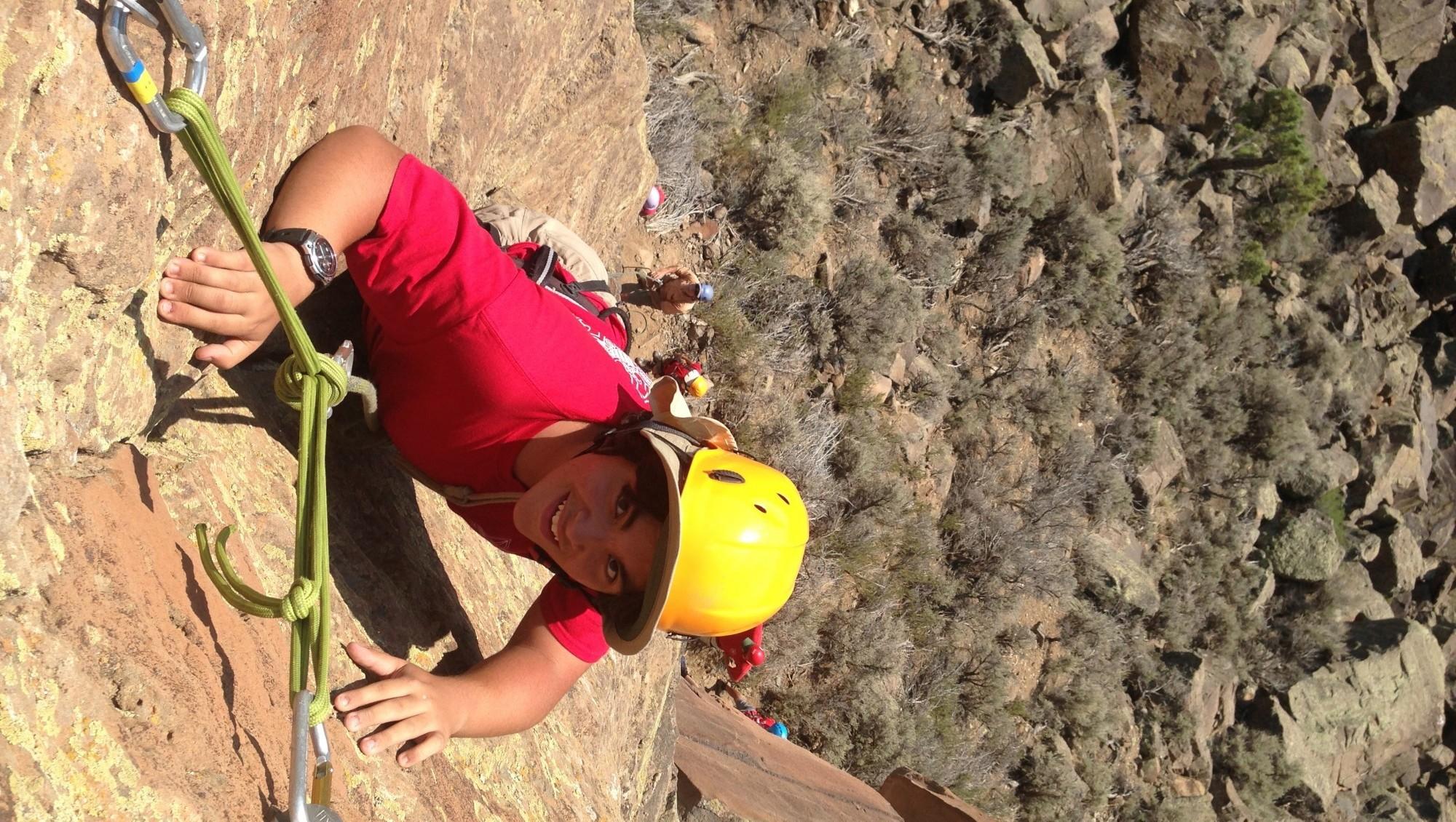 Rock Climbing Adventure Minimal