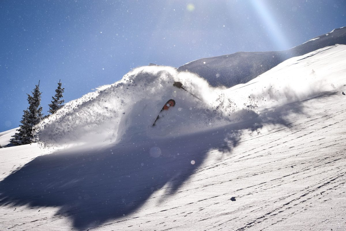 Guided Powder Skiing in Taos, New Mexico